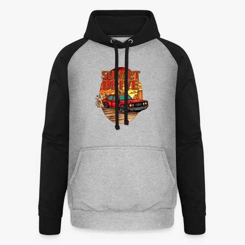 Sunset Drive - Sweat-shirt baseball unisexe