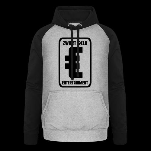 ZwartGeld Logo Sweater - Unisex baseball hoodie