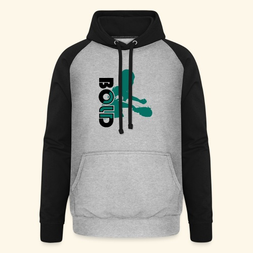 BOLD, table tennis championship ideal gift - Unisex Baseball Hoodie