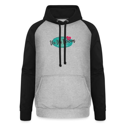 vavavoom logo 330v760 - Unisex baseball hoodie