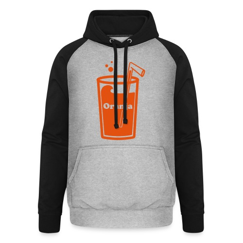 Oranja - Unisex baseball hoodie