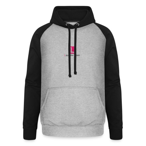 laughterdown official - Unisex Baseball Hoodie