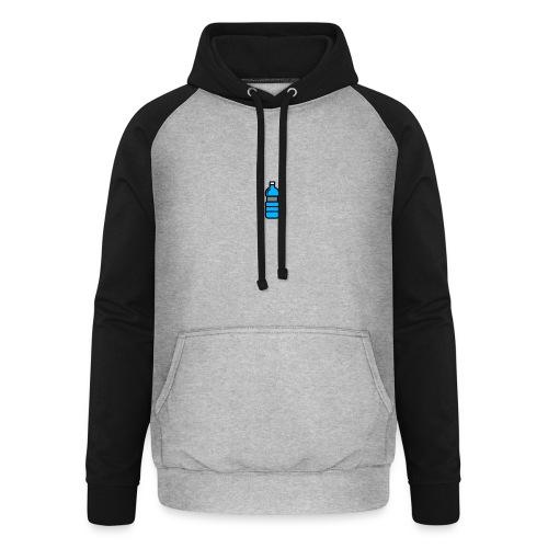 Bottlenet Tshirt Grijs - Unisex baseball hoodie