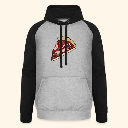 Pizza - Sweat-shirt baseball unisexe