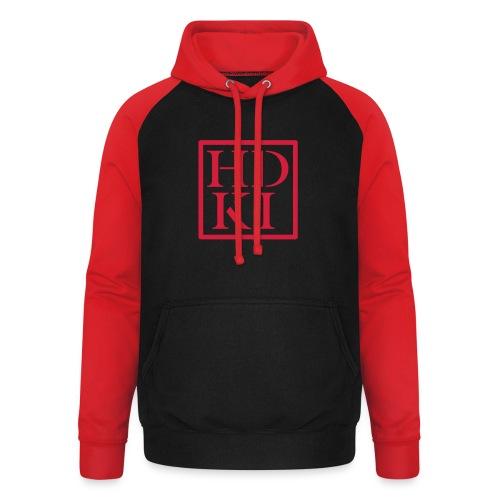 HDKI logo - Unisex Baseball Hoodie