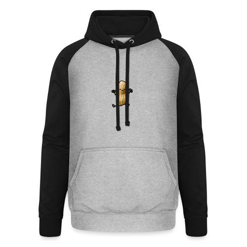 Pinda logo - Unisex baseball hoodie