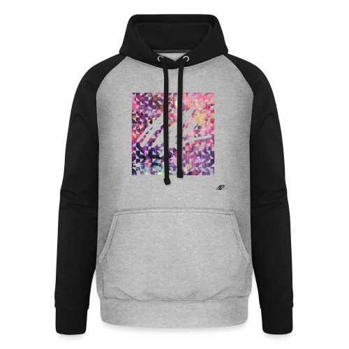 Pixl'ink by NSKdsign - Sweat-shirt baseball unisexe