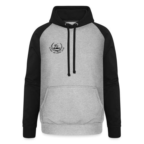 logo på brystet - Unisex baseball hoodie
