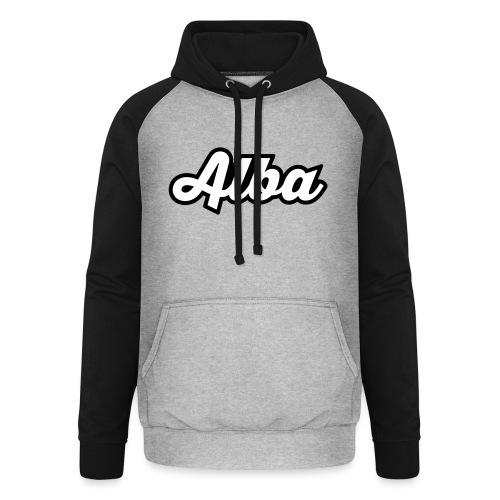 Alba, tekstilogo - Unisex baseball-huppari
