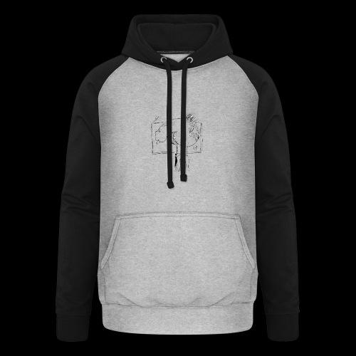 dickhead - Unisex baseball hoodie