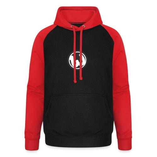 Wooshy Logo - Unisex Baseball Hoodie