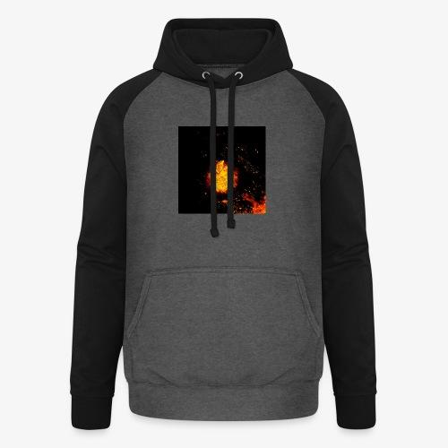 FIRE BEAST - Unisex baseball hoodie