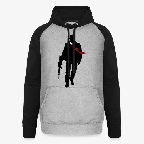PREMIUM SO GEEEK HERO - MINIMALIST DESIGN - Sweat-shirt baseball unisexe