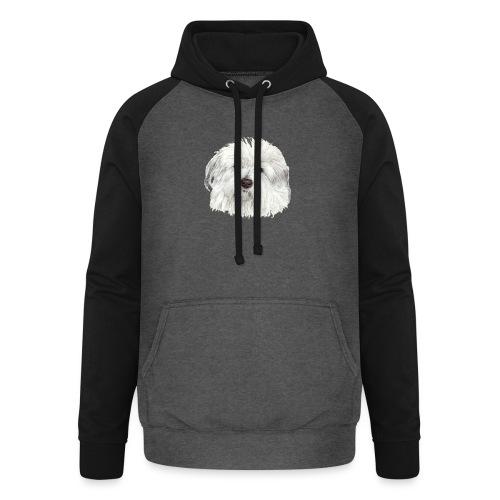 coton-de-tulear - Unisex baseball hoodie