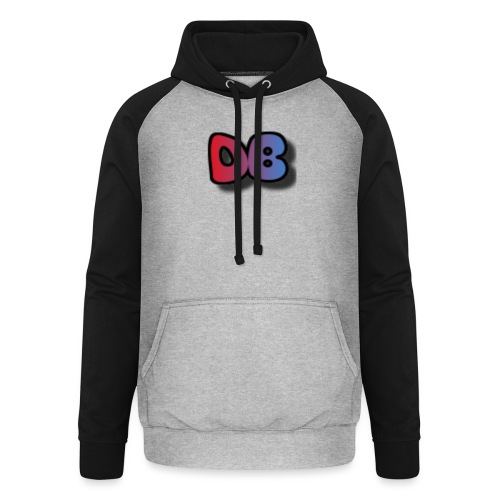 Double Games DB - Unisex baseball hoodie