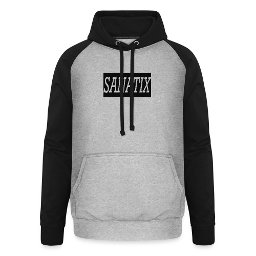 SanatixShirtLogo - Unisex Baseball Hoodie