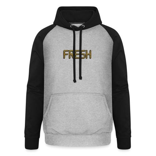 Limited Edition Fresh (Gold) Design - Unisex Baseball Hoodie