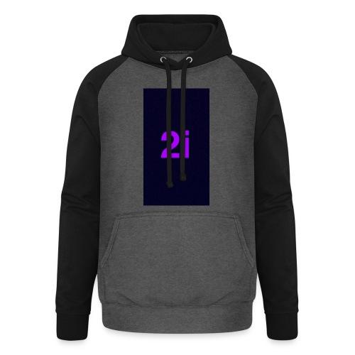 2i - Sweat-shirt baseball unisexe