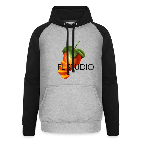 Sliced Sweaty Fruit - Unisex Baseball Hoodie