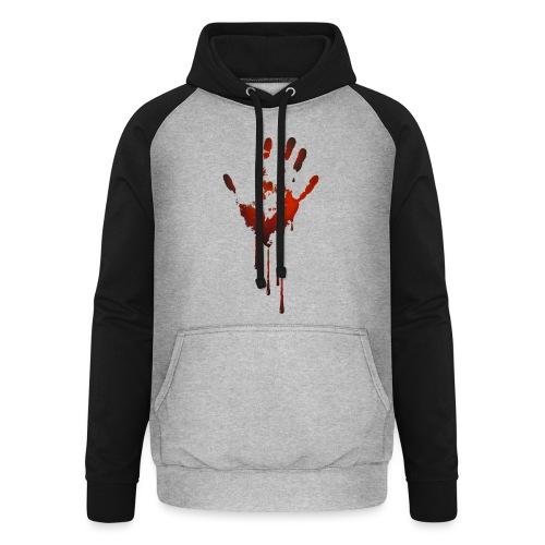 tænk dig om - Unisex baseball hoodie