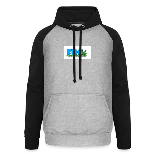 Logo_Fabini_camisetas-jpg - Sudadera con capucha de béisbol unisex