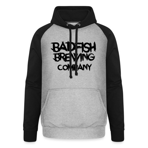 BadFish + Logo - Sweat-shirt baseball unisexe
