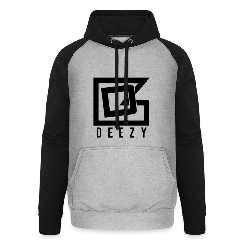 DEEZY_BRAND01 - Unisex baseball hoodie