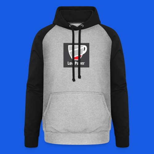 Low power need refill - Unisex baseball hoodie