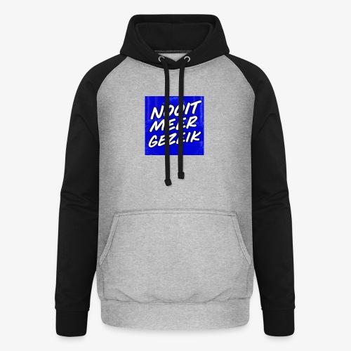 De 'Nooit Meer Gezeik' Merchandise - Unisex baseball hoodie