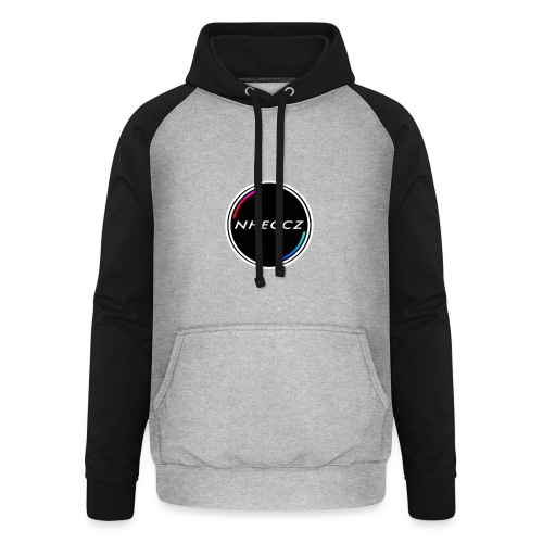 NHECCZ Logo Collection - Unisex Baseball Hoodie
