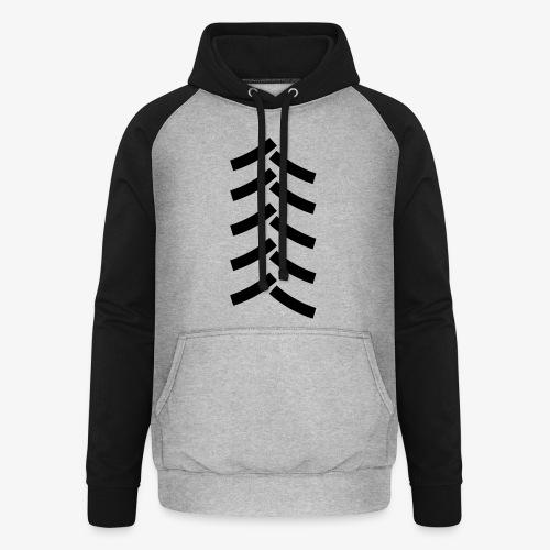 tractor spoor, bandenspoor - Unisex baseball hoodie