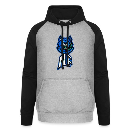 Noah Fortes logo - Unisex baseball hoodie
