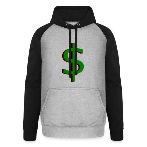 dollar - Unisex baseball hoodie