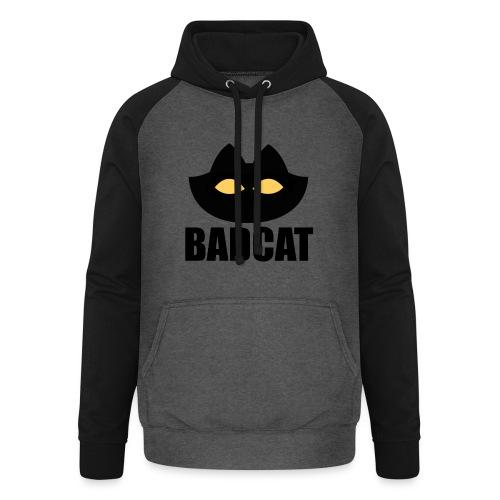 BADCAT - Unisex baseball hoodie