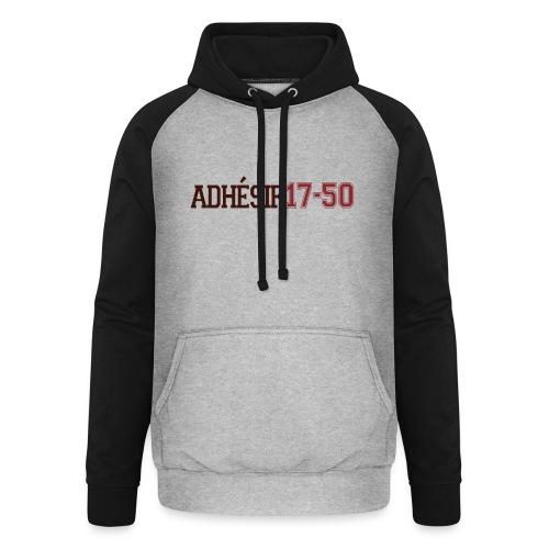 ADHESIF 2 cotés - Sweat-shirt baseball unisexe