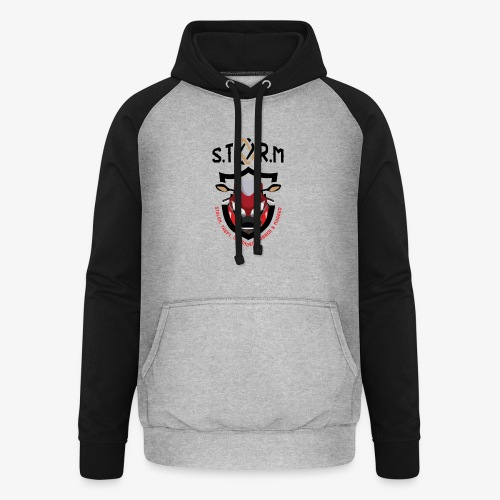 Stolen Theft Offended Robbed Mugged - Unisex Baseball Hoodie