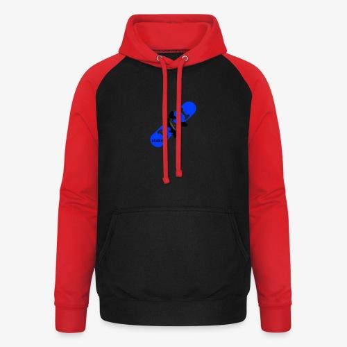 skateboard 512 - Unisex baseball hoodie