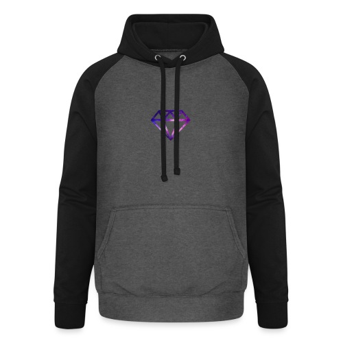 Galaxy Diamonds - Unisex Baseball Hoodie