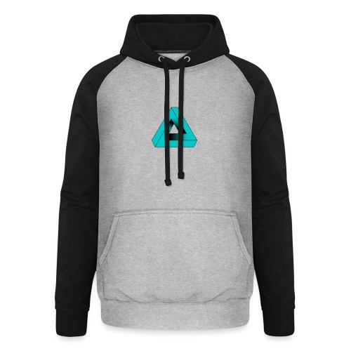 Impossible Triangle - Unisex Baseball Hoodie