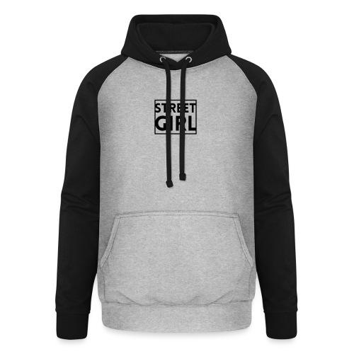 girl - Sweat-shirt baseball unisexe