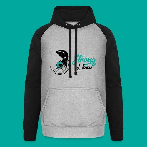 Collection  Strong & Loca  - Sweat-shirt baseball unisexe