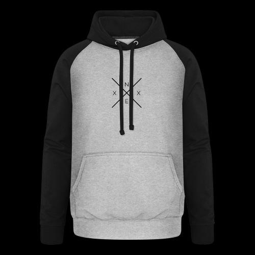 NEXX cross - Unisex baseball hoodie