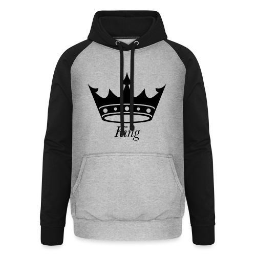 KING - Unisex baseball hoodie