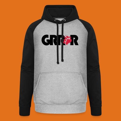 grrr2011 - Unisex Baseball Hoodie