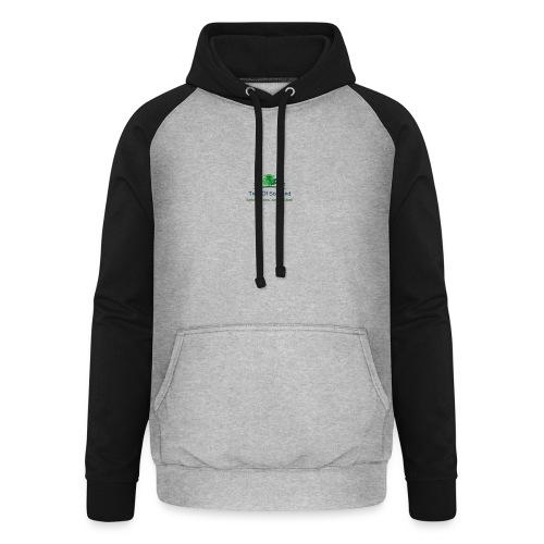 TOS logo shirt - Unisex Baseball Hoodie