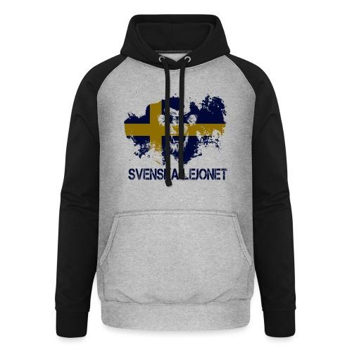 Svenska Lejonet Official Chest Logo - Basebolluvtröja unisex