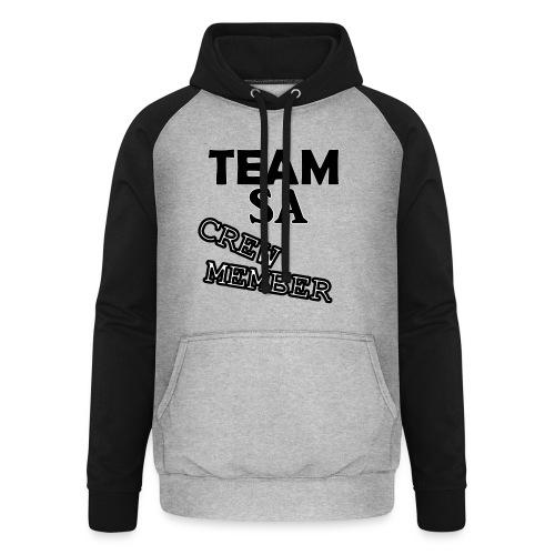 Team SA Crew Member Logo - Basebolluvtröja unisex