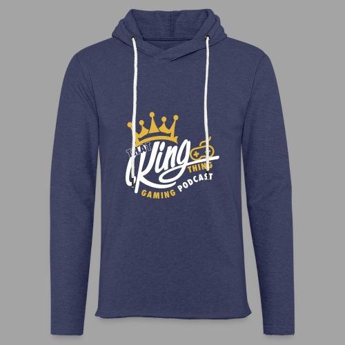 That King Thing Logo - Light Unisex Sweatshirt Hoodie