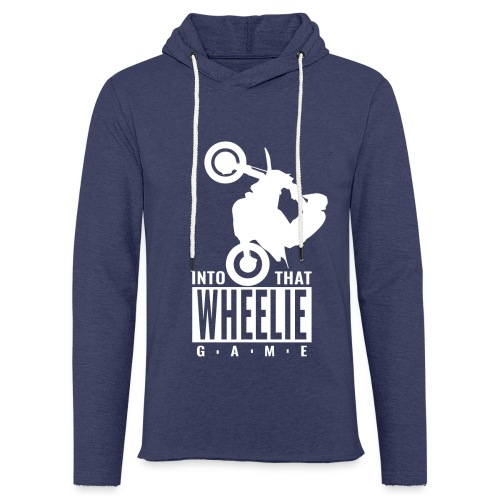 Into that Wheelie Game - Light Unisex Sweatshirt Hoodie