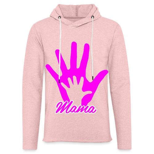 mamas hand - Sweat-shirt à capuche léger unisexe